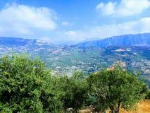 Lebanon Mountain View royalty free stock image