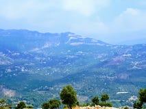 Lebanon Mountain View stock photo