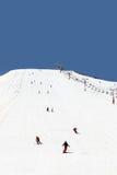 lebanon skidåkning Arkivbild