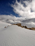 Lebanon_snow_05 stock photography