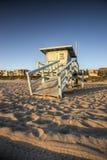 Leben-Abdeckung-Kontrollturm am Sonnenuntergang Lizenzfreie Stockfotos