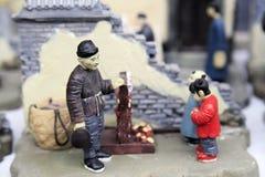 Leben in altem Peking Lizenzfreie Stockfotografie