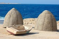 Leben auf dem Strand Lizenzfreies Stockfoto