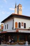 Leben auf der Straße von Sarajevo, Bosnien Lizenzfreies Stockfoto