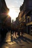 Leben auf der Straße von Sarajevo, Bosnien Stockfotografie