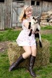 Leben auf einem Bauernhof Stockfotos