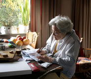 Leben auf Sozialversicherung Lizenzfreie Stockfotografie