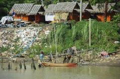 Leben in den ländlichen Dörfern Stockfoto