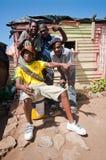Leben der Gemeinde, Südafrika Stockbilder