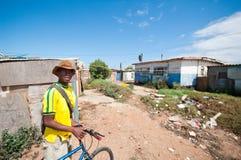 Leben der Gemeinde, Südafrika Stockfotos