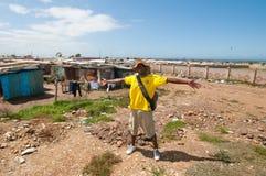 Leben der Gemeinde, Südafrika Lizenzfreies Stockbild