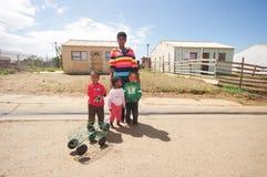 Leben der Gemeinde, Südafrika Lizenzfreie Stockbilder