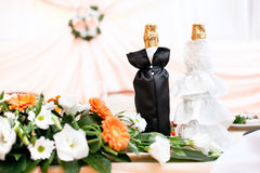 Leben der Hochzeitstabelle noch Lizenzfreies Stockfoto