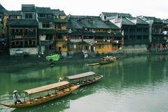 Leben in der Phoenix-Stadt China Stockbild