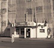 Leben der ruhigen Straße Stockfotografie