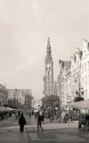 Leben der ruhigen Straße Lizenzfreie Stockfotografie