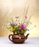 Leben der wilden Blumen noch Lizenzfreies Stockfoto