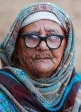 Leben einer alten Punjabifrau Lizenzfreies Stockbild