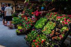 Leben in einer kleinen türkischen Stadt Lizenzfreie Stockfotos