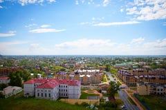 Leben einer provinziellen Stadt Stockfotografie