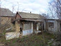 Leben im Dorf in den Dritt-Welt-Ländern lizenzfreies stockfoto