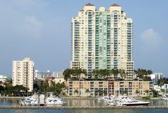Leben im Miami Beach lizenzfreie stockbilder