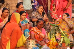 Leben in Indien Stockbild