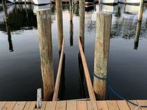 Leben am Jachthafen stockbilder