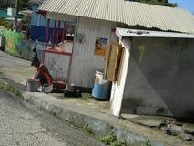 Leben nach Hurrikan Tomas Lizenzfreie Stockfotografie