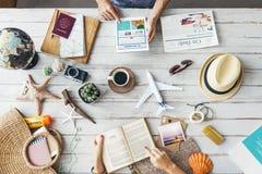 Leben-Reise-Reise-Balancen-Bestimmungsort-Reise-Konzept lizenzfreies stockfoto