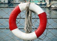 Leben-Ring und Seil Lizenzfreie Stockfotografie