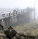 Leben-Risiko-Nebel Stockbild