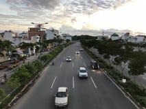 Leben in Sai Gon Lizenzfreie Stockfotografie