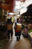 Leben in Sapa-Viet Nam Lizenzfreies Stockfoto
