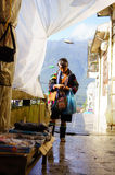 Leben in Sapa-Viet Nam Lizenzfreie Stockfotografie