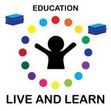 Leben Sie und erlernen Sie Lizenzfreie Stockbilder