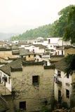 Leben in Xiaoqi, altes Landwirtdorf in der Südchina Stockbild