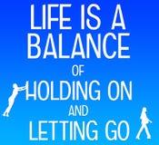 Lebenbalance Stockfotos