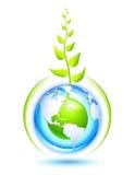 Lebende Erde Stockfoto