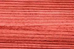 Lebende korallenrote hölzerne Beschaffenheit der Weinlese entziehen Sie Hintergrund lizenzfreie stockfotos