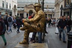 Lebende Statue Stockfotografie