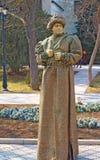 Lebende Statuemeisterschaft. Evpatoria, Ukraine stockfotos