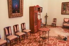 Lebender Gatchina-Innenpalast Stockbild