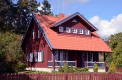 Lebendes Haus. Lizenzfreies Stockfoto