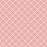 Lebendes korallenrotes abstraktes Muster vektor abbildung