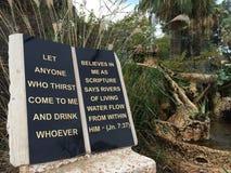 Lebendes Wasser Stockfotos