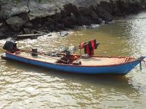 Lebensart Dorfbewohnerseeküste in Thailand Lizenzfreie Stockfotos