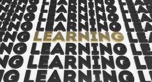 Lebenslanges Lernen Lizenzfreie Stockfotos