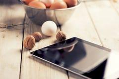 Lebensmittel-Blog Lizenzfreie Stockfotografie