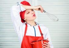 Lebensmittel Blogger Berufschef in der K?che cuisine   Hausfrau mit dem Kochen stockfoto